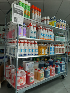 Desinfectantes, Bactericidas, Fungicidas, Contra-Alergia