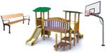 Equipamiento Deportivo, Mobiliario Urbano, Parques Infantiles